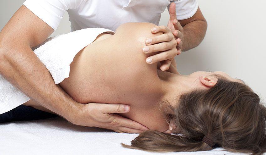 Fisioterapeuta o masajista